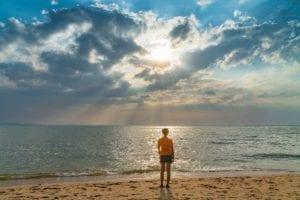 Hypnosis Beach Scene